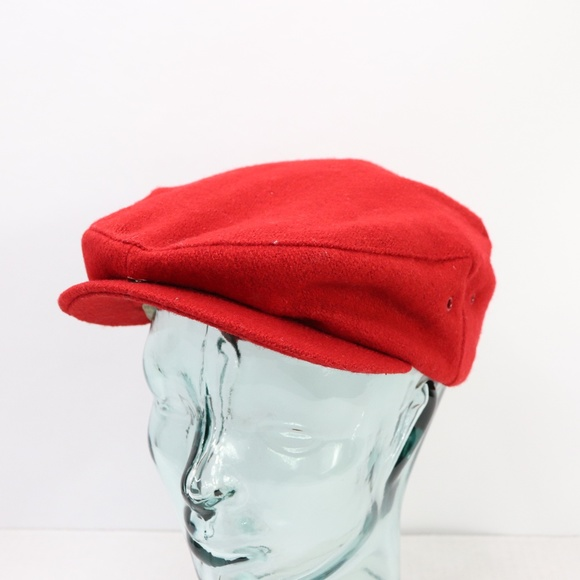 641021b7 Unbranded Accessories   Vtg 50s Union Made Wool Newsboy Cabbie Hat ...
